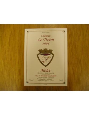 etiquette chateau le trétin 1995